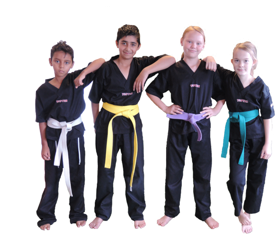 Kickboxing Juniorhold fighters